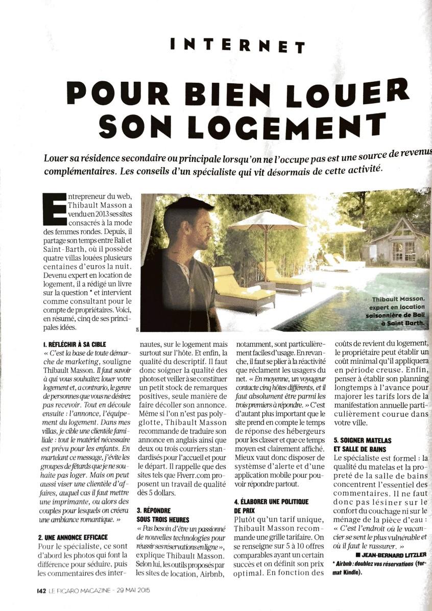 Airbnb : doublez vos reservations - Thibault Masson