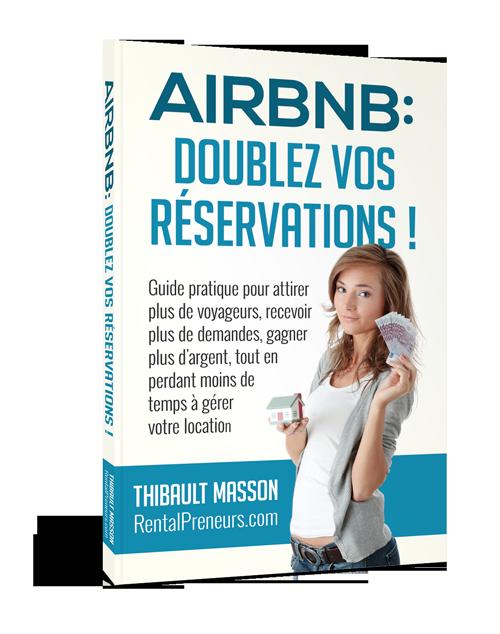 livre airbnb doublez vos reservations